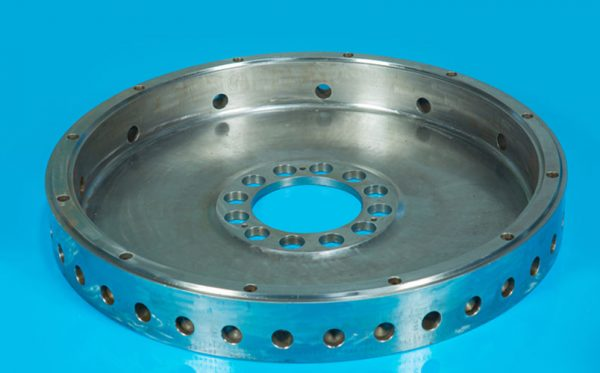 Machined and balanced Weldment - Copuling disc of diesel engine